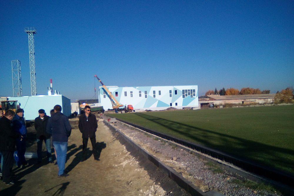 Губернатор Пензенской области остался недоволен оформлением настадионе «Зенит»