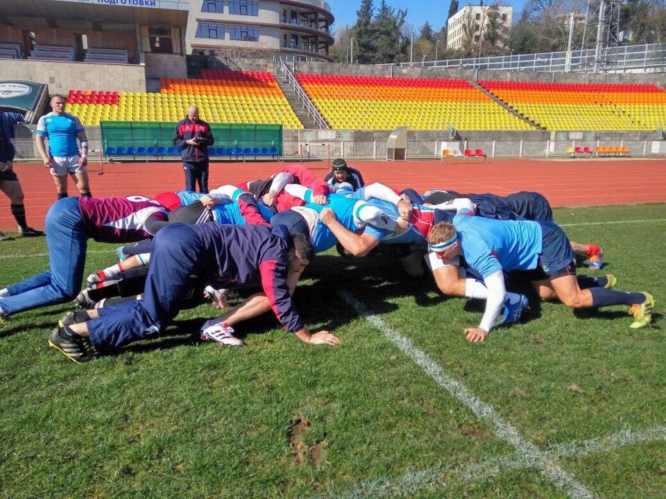 Пензенский регбист встартовом составе наматч против сборной Румынии