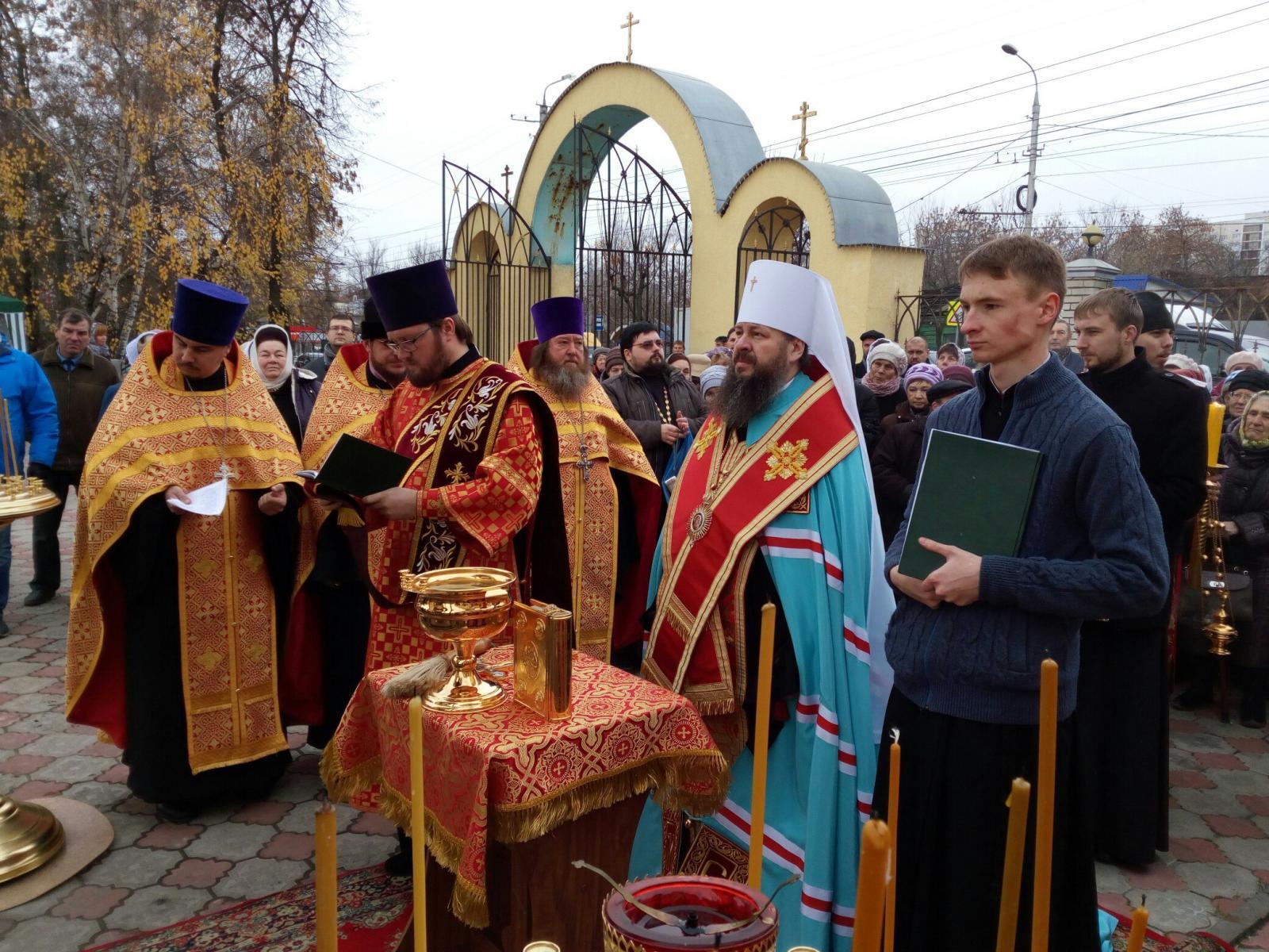 ВПензе открыт памятник-часовня святым царственным страстотерпцам