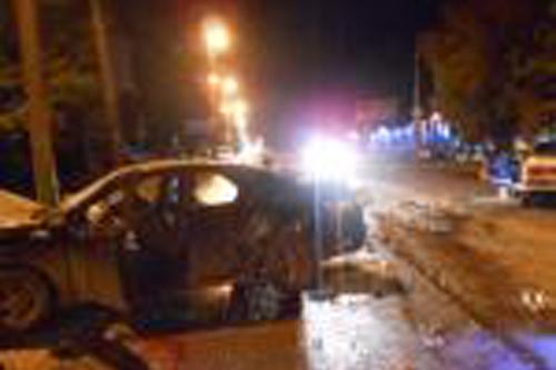 Втройном ДТП наАустрина пострадали пятеро мужчин