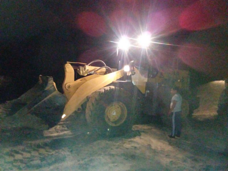 Похитителей песка словили в2 километрах отКузнецка