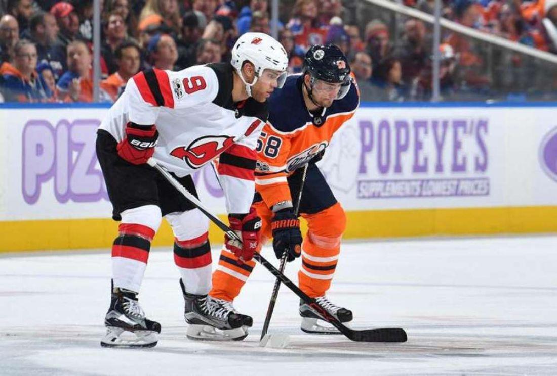 «Эдмонтон» победил «Нью-Джерси» вматче НХЛ, Слепышев набрал одно очко