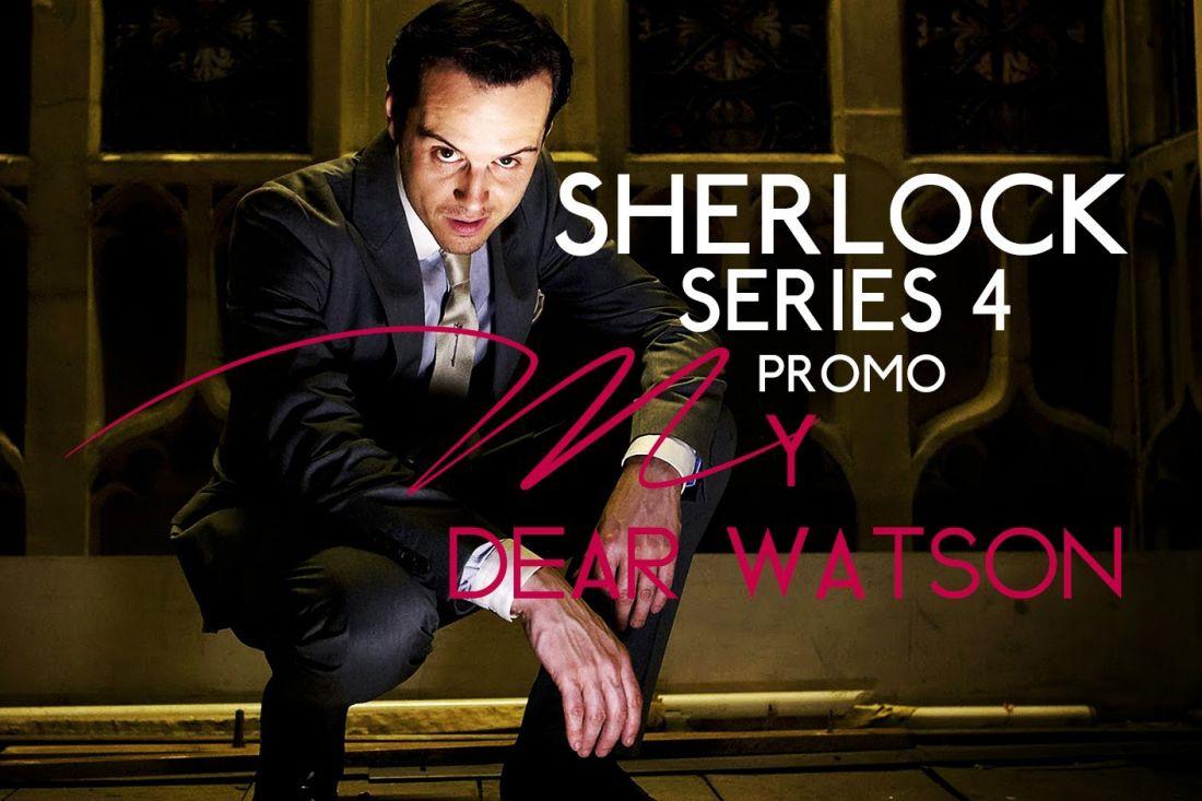 Опубликован первый трейлер четвертого сезона сериала «Шерлок»