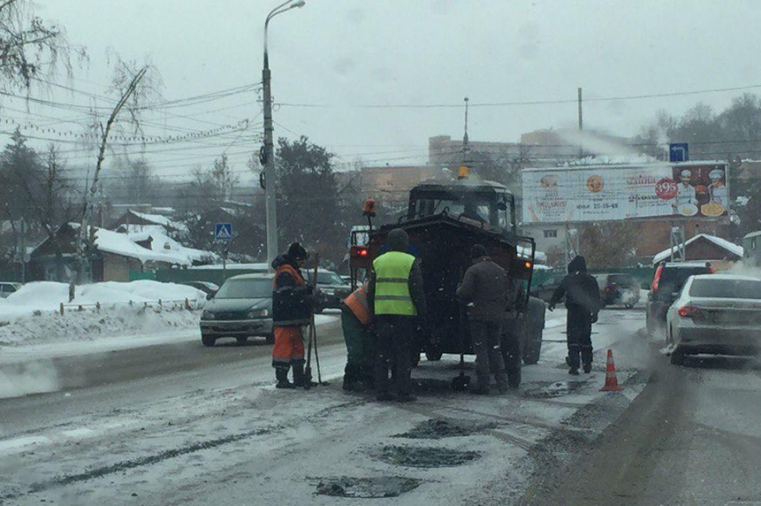 ВПензе возникла новая техника для ремонта дорог