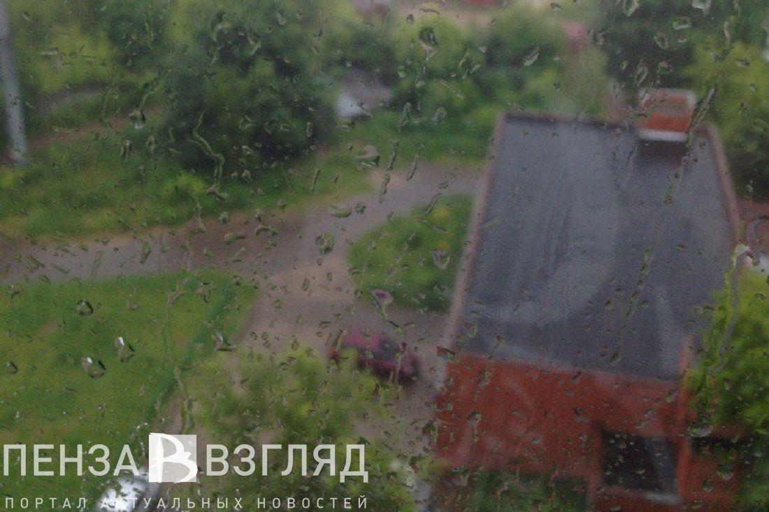 ГУМЧС предупреждает осильном дожде спорывистым ветром