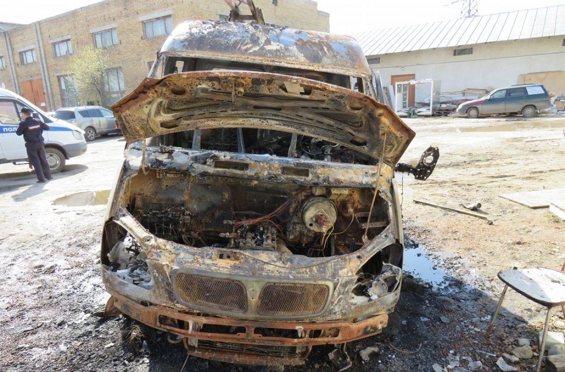ВПензе при возгорании автомобиля умер мужчина