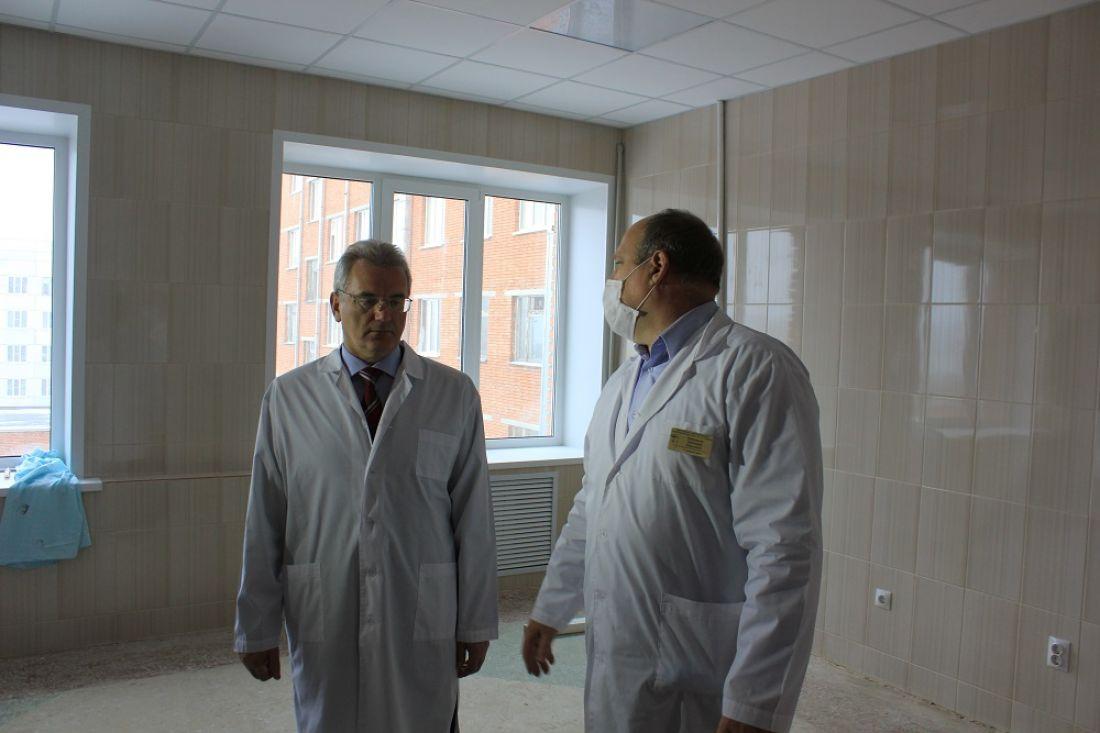 Губернатор поручил улучшить еду впензенских клиниках