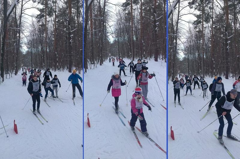 Неменее 2 тыс. пензенцев приняли участие вмассовой лыжной гонке