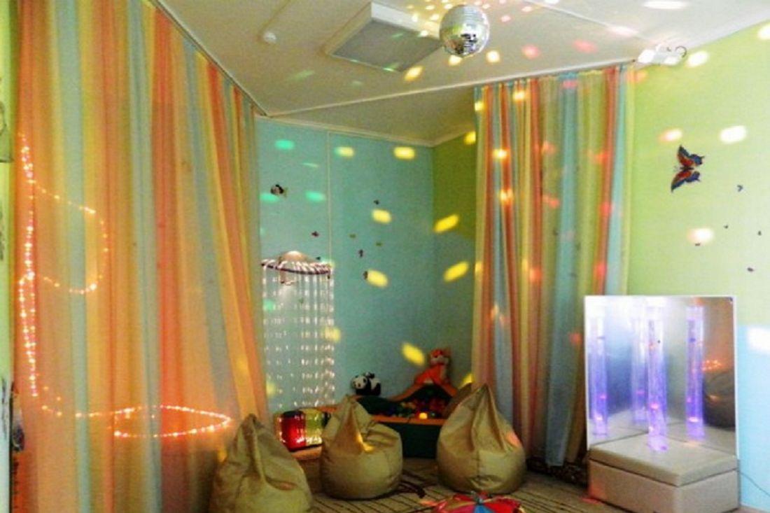 Комната релаксации в детском саду своими руками