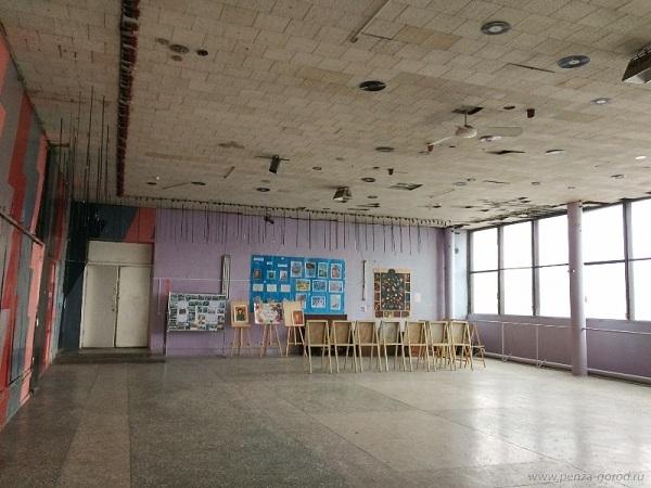 ВПензе школу искусств «Квинта» заливает водой