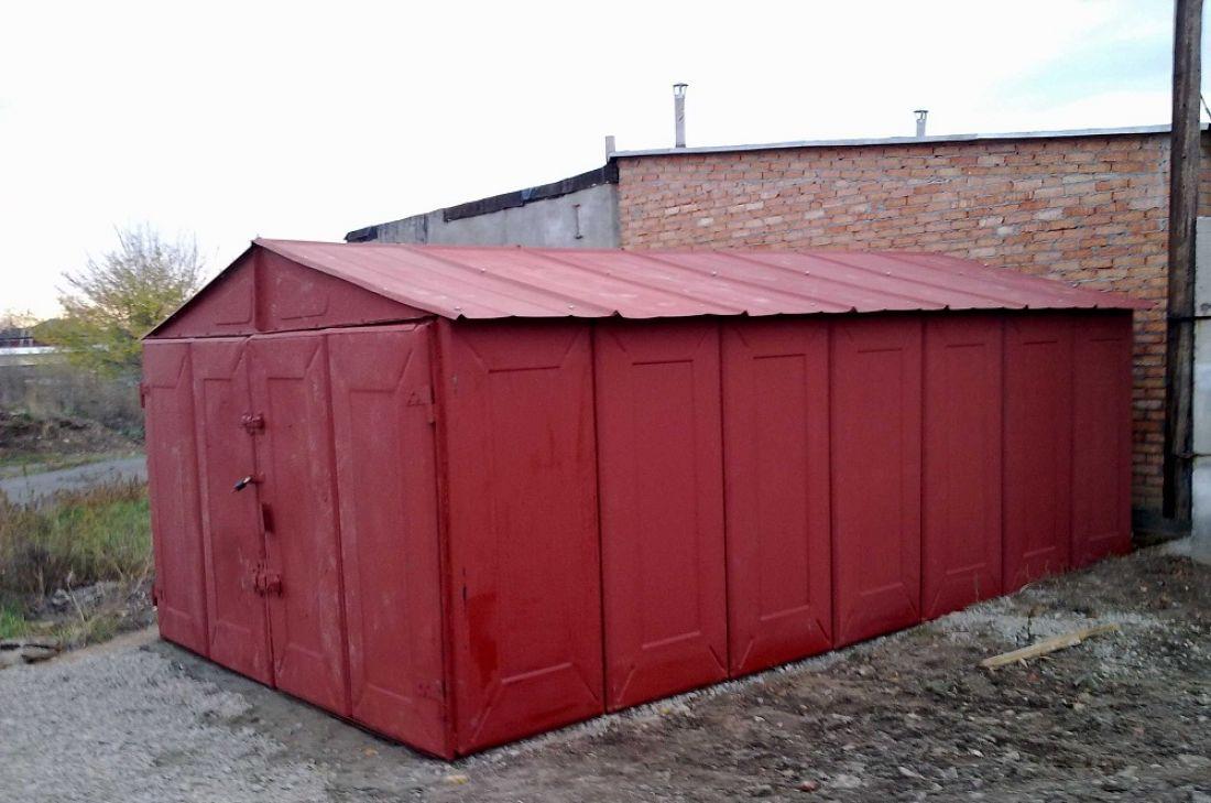 Установка металлических гаражей во дворах гаражи купить в советске