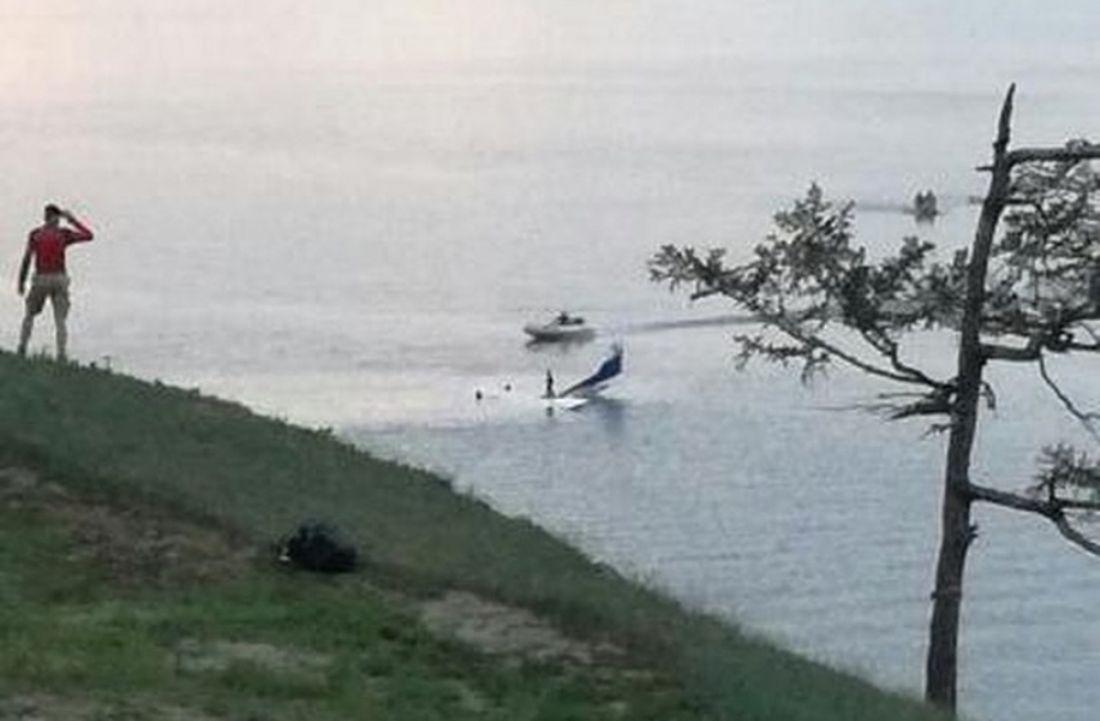 Возеро Байкал рухнул самолет стуристами