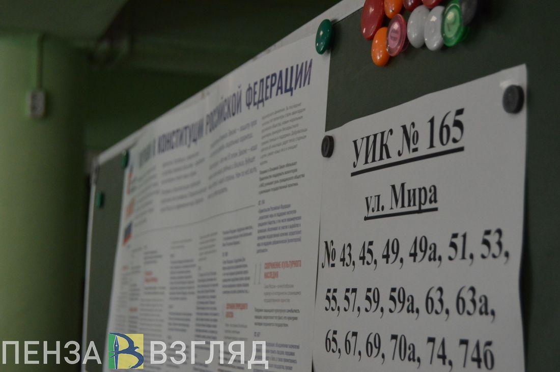 В Пензе по поправкам в Конституцию проголосовала почти треть горожан