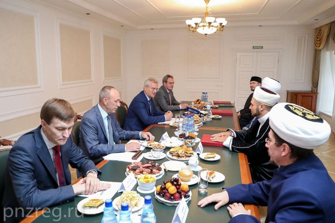 Губернатор встретился с муфтиями Пензенской области