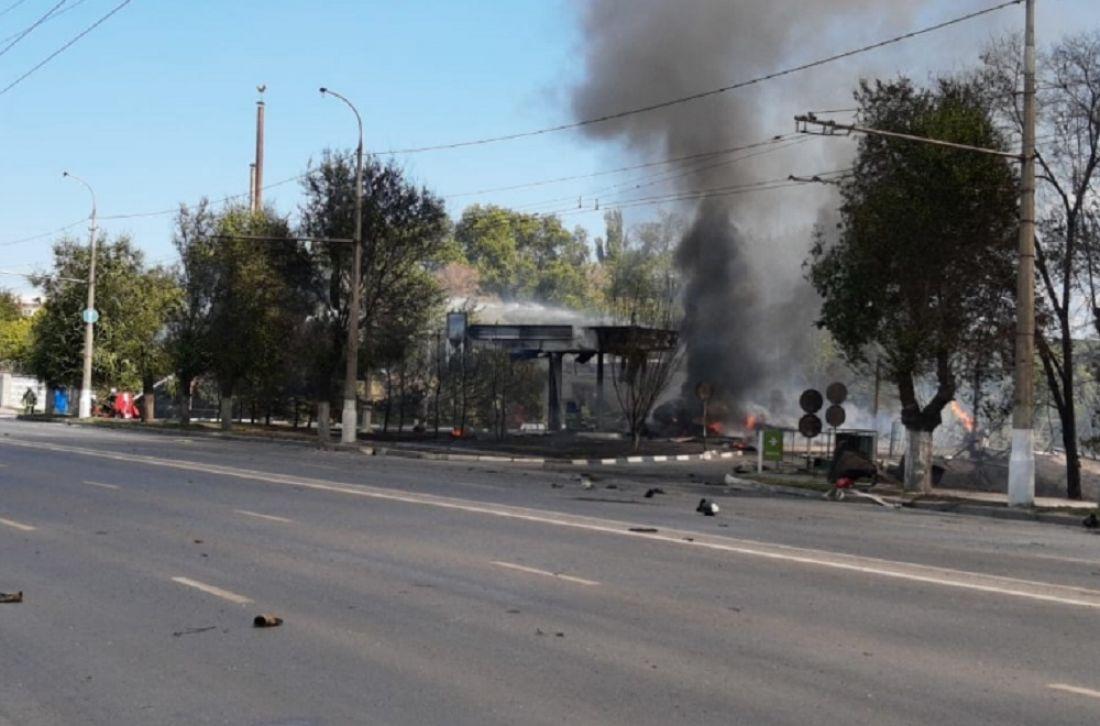 Восемь пожарных пострадали при взрыве вВолгограде