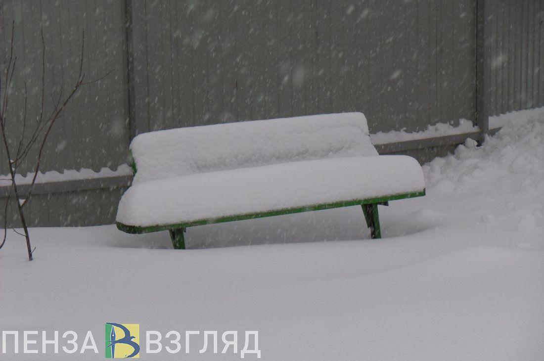 В Пензенской области температура упадет до минус 27 градусов
