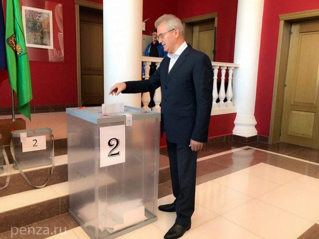 Впензенское Законодательное собрание будет выбрано 36 депутатов
