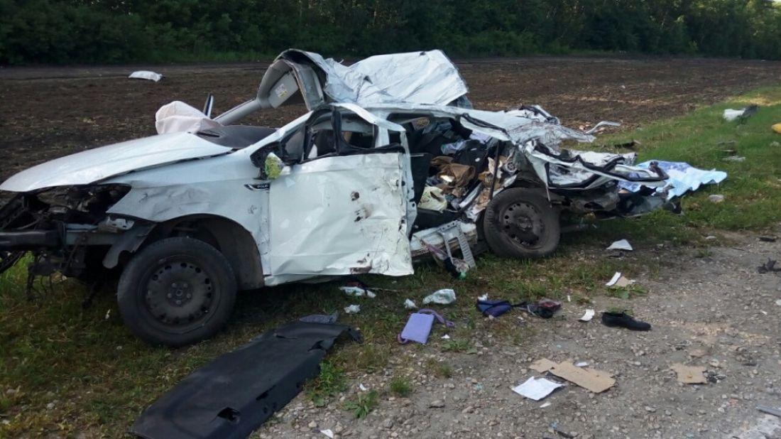 Наавтотрассе вПензенской области погибли три человека