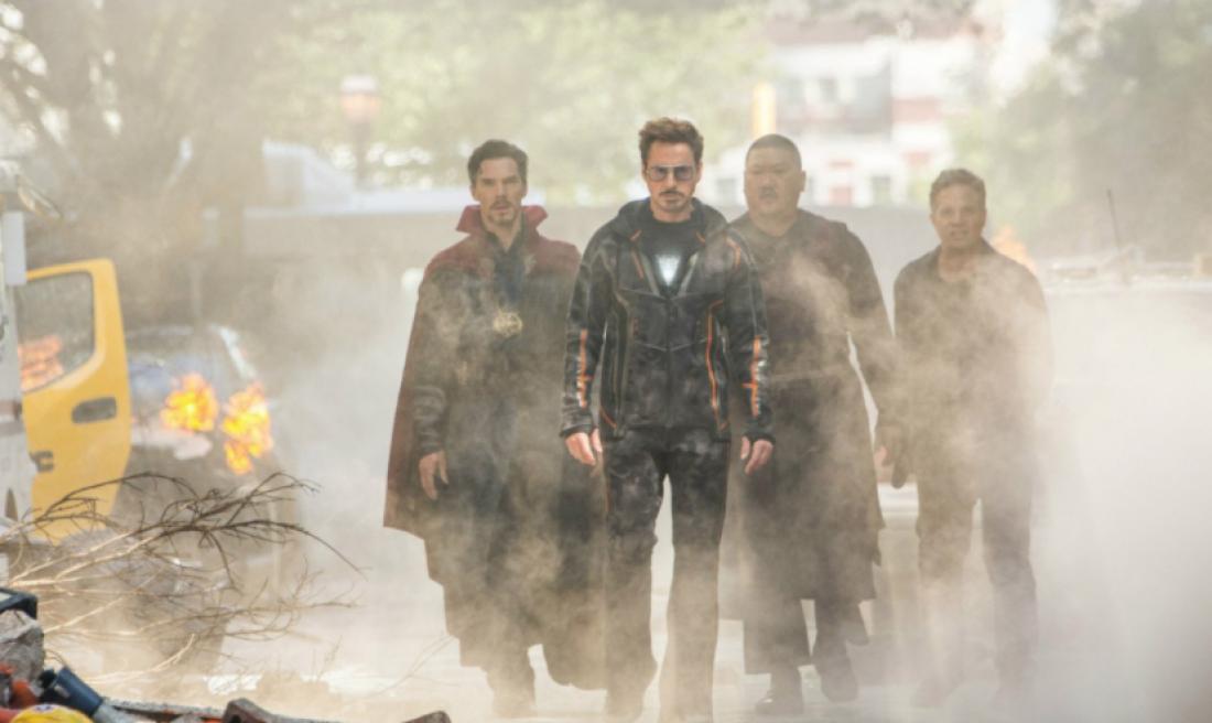 Новая часть «Мстителей» снова стала лидером русского проката по результатам выходных