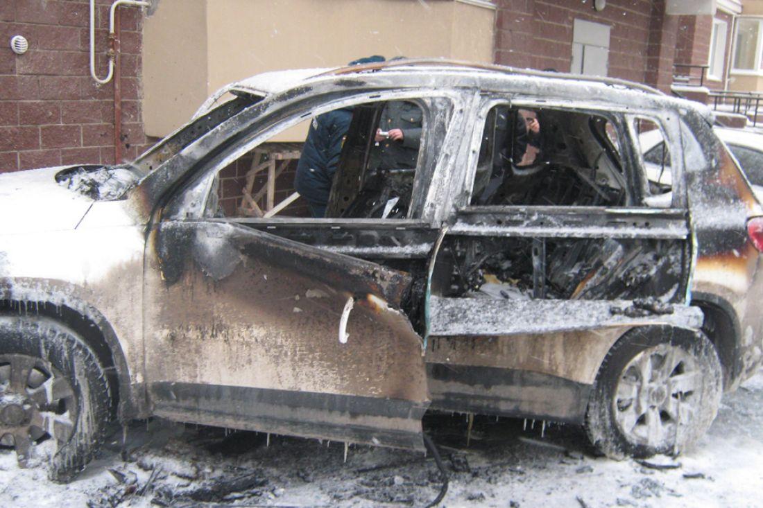 Гражданин Пензы изревности поджег машину бывшей девушки