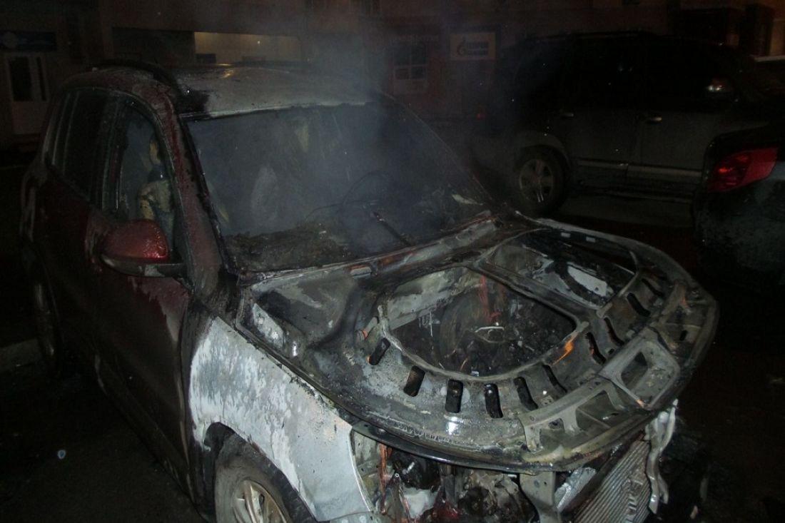 ВПензе наСадовом кольце ночью сгорел «Volkswagen»