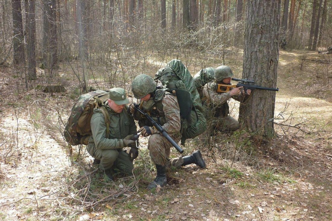 Бойцы Росгвардии десять суток провели вполевых условиях