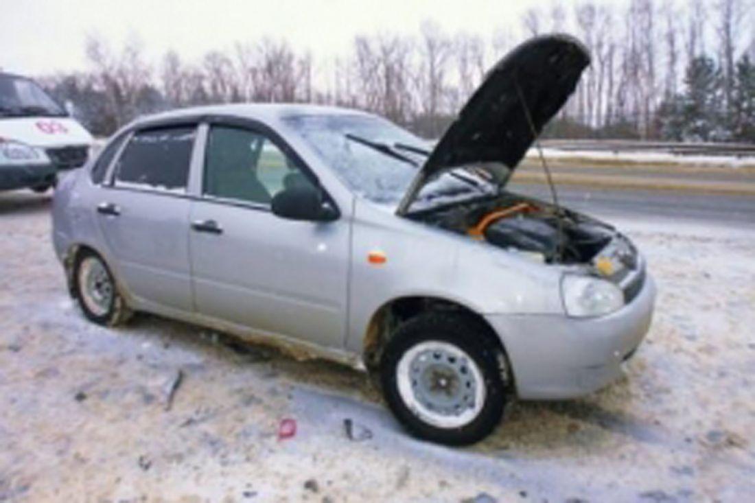 НаМ5 «Урал» вПензенской области столкнулись два автомобиля, имеется пострадавший
