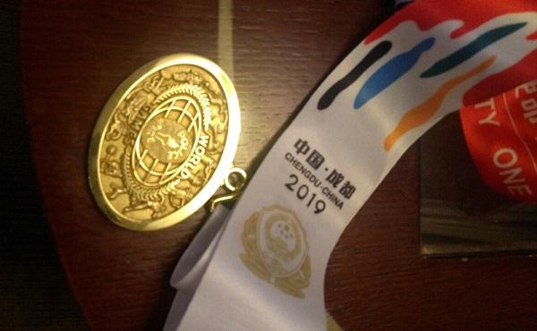 Пензенские полицейские завоевали золотые медали на Всемирных играх в КНР