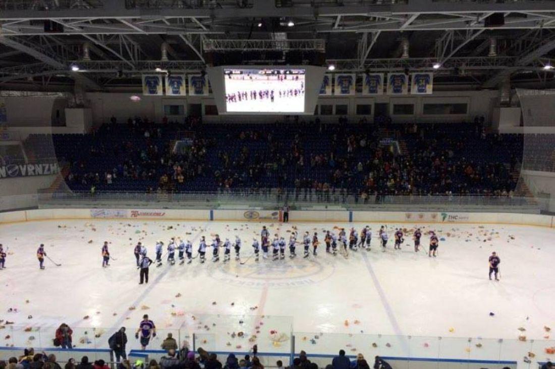 Воронежский «Буран» завершил последний матч текущего года уверенной победой