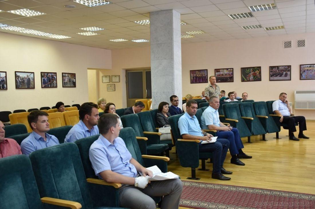 ВПензе состоялось совещание поподготовке котопительному сезону