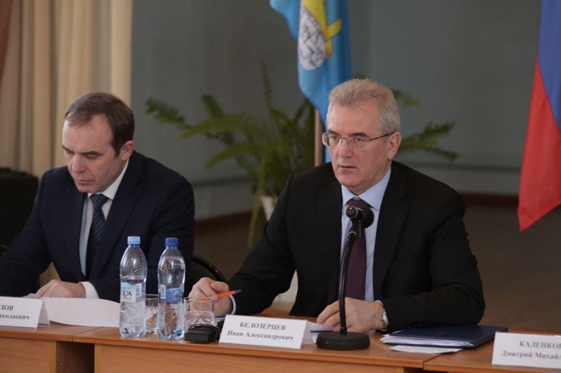 Губернатор провел общее выездное совещание антитеррористической комиссии иоперативного штаба Пензенской области