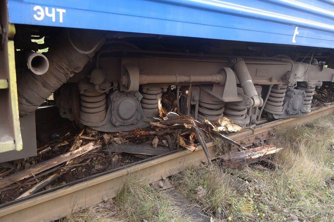 ВПриморье из-за шалости 2-х детей сошёл срельсов вагон пассажирской электрички