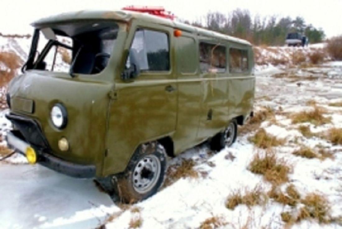 ВПензенской области из-за падения «УАЗа» вводоем погибла женщина