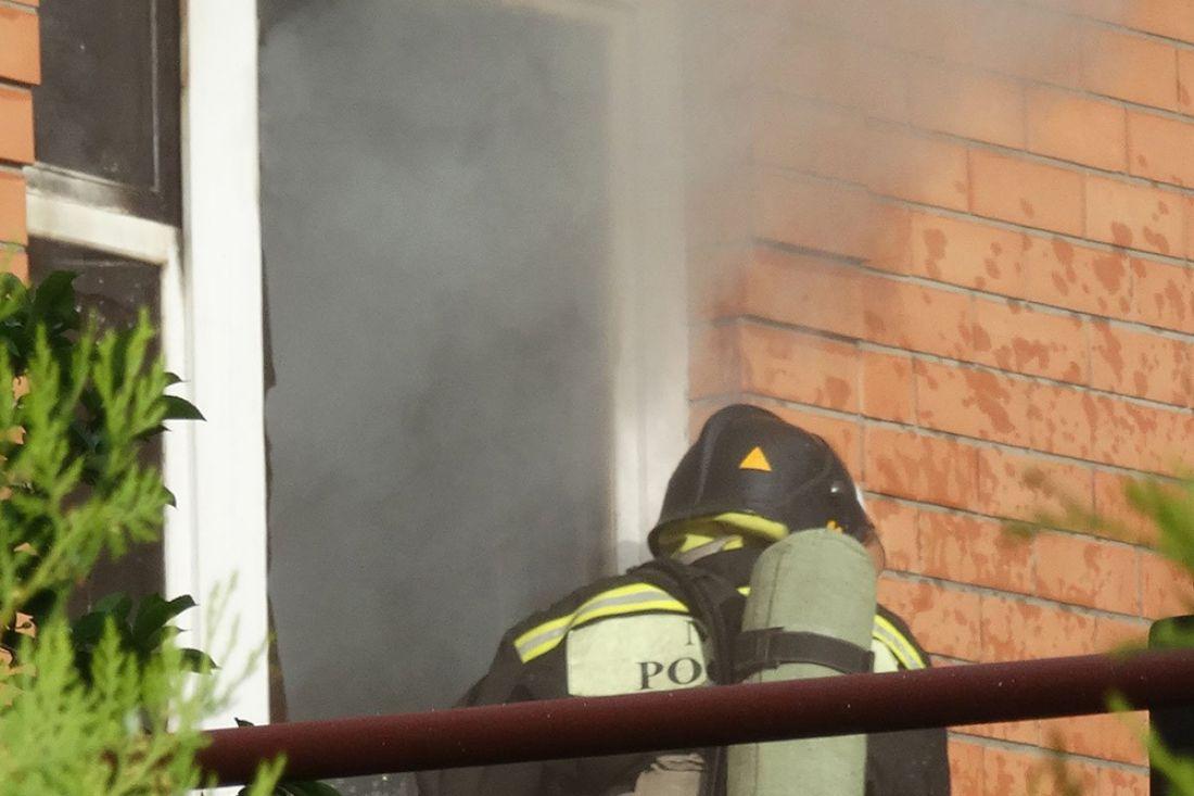 ВРостове-на-Дону загорелась пятиэтажка наулице Оганова