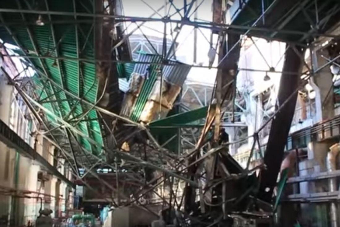 Наместе взрыва ТЭЦ вПензе обрушилась кровля