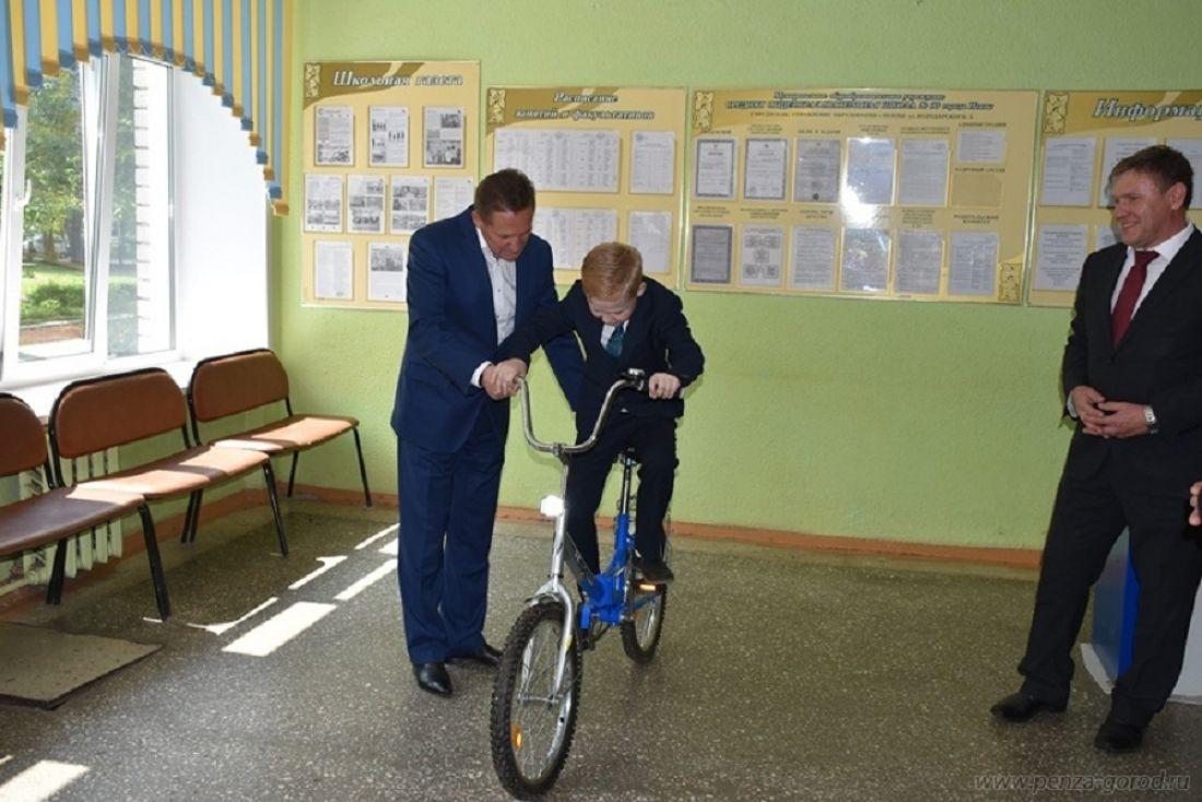 Древнюю мечту 2-классника из30-й школы помог выполнить мэр Пензы