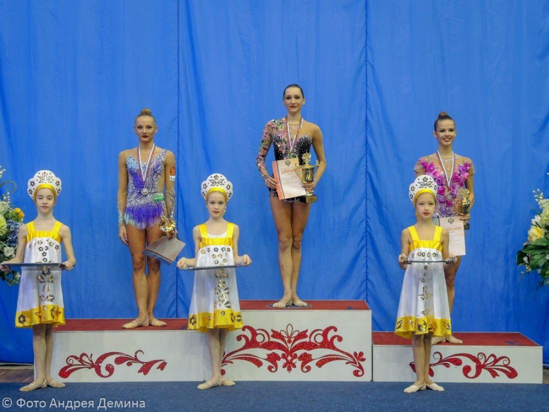 Пензенская гимнастка выиграла золото русского Кубка