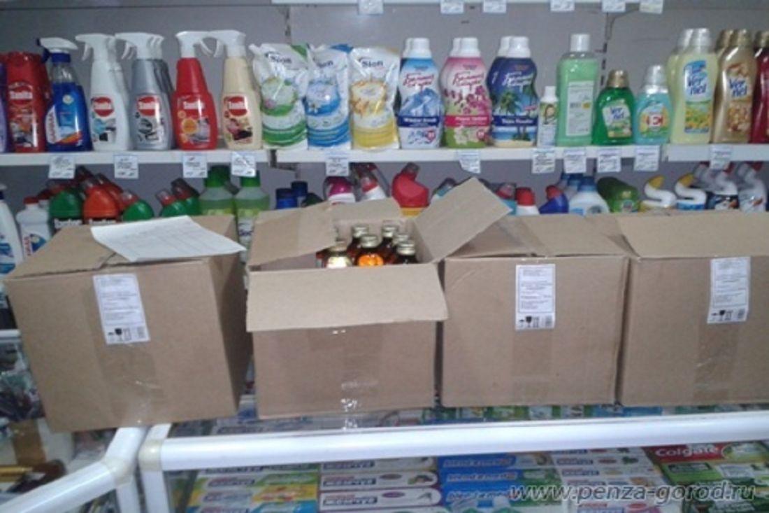 Неменее 180 флаконов «Боярышника» изъято водном измагазинов Пензы