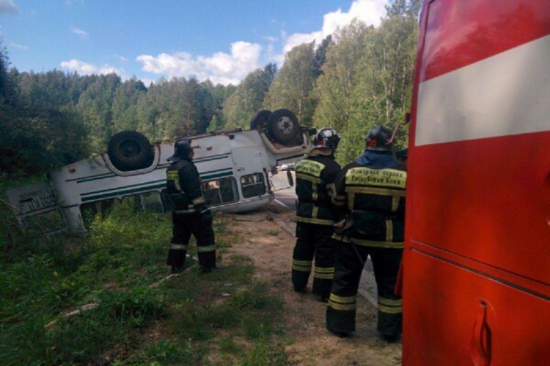 ВКоми в итоге ДТП пострадали 17 человек