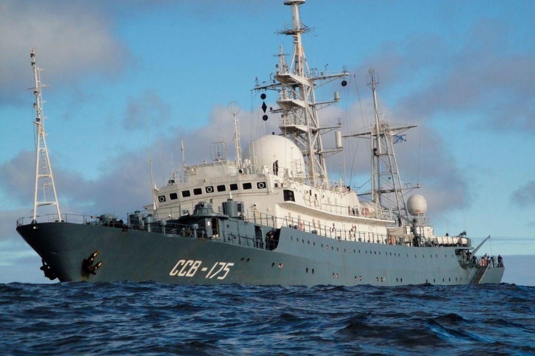 К берегам США подошел российский корабль-разведчик «Виктор Леонов»: СМИ