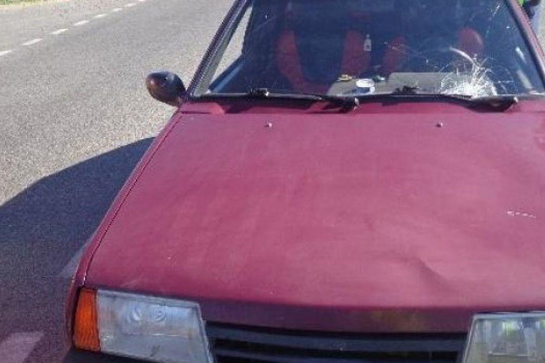 11-летний парень  выбежал наулицу Дзержинского ипопал под колеса