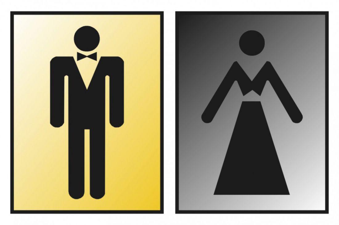 Наклейка на женский туалет картинки