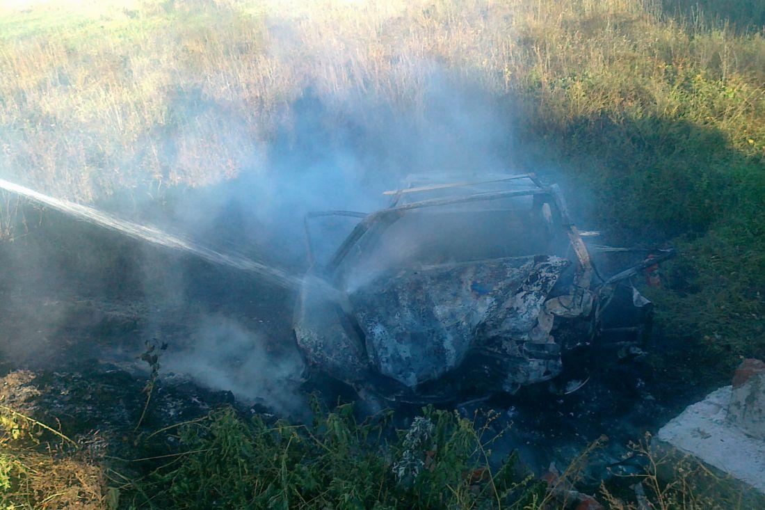 ВВадинском районе три человека погибли вгорящем «Опеле»