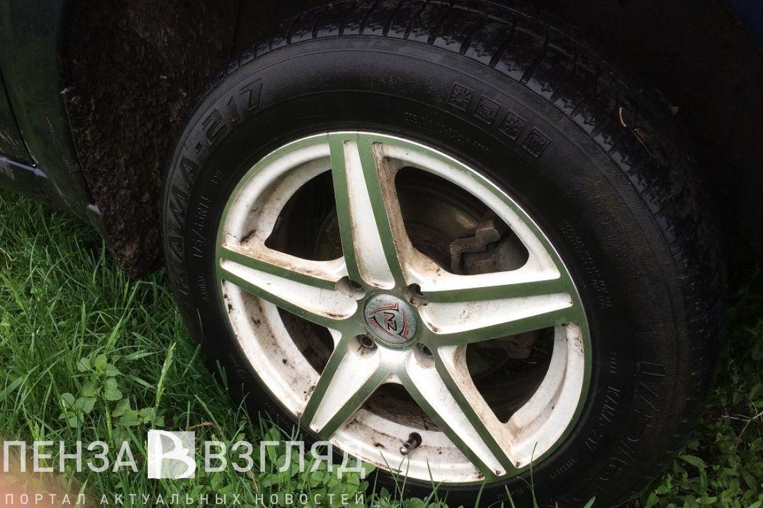 ВПензе саратовский угонщик сбил владельца авто