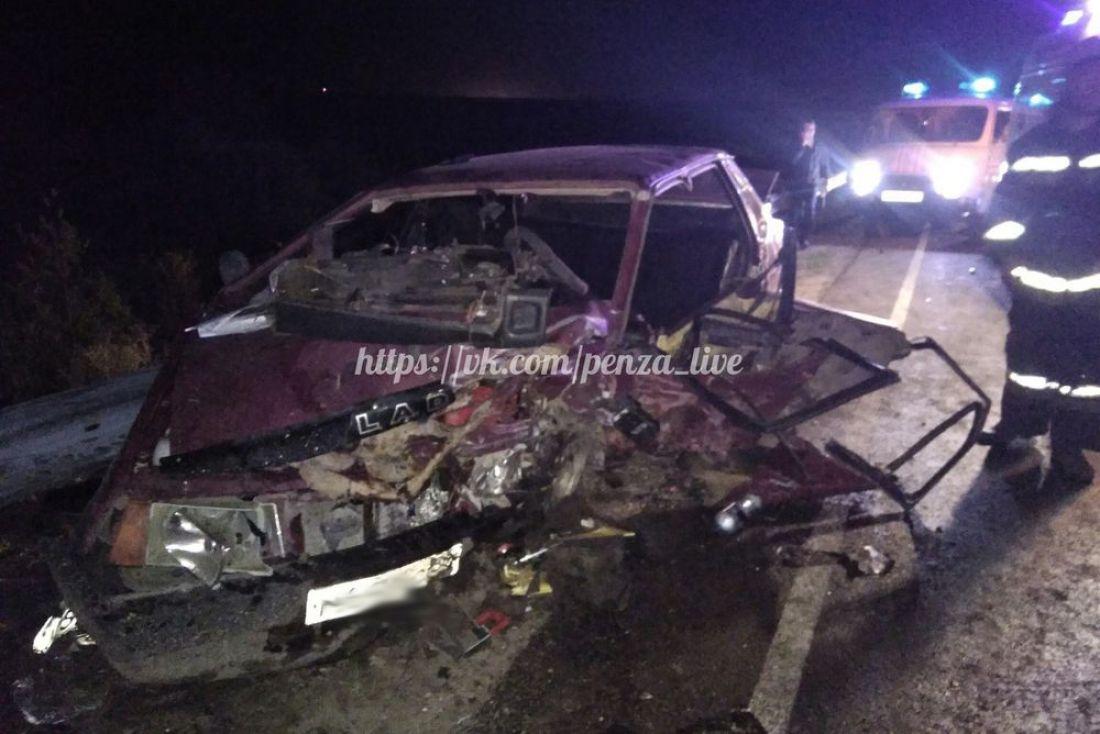 В трагедии вКузнецком районе умер пассажир «десятки»