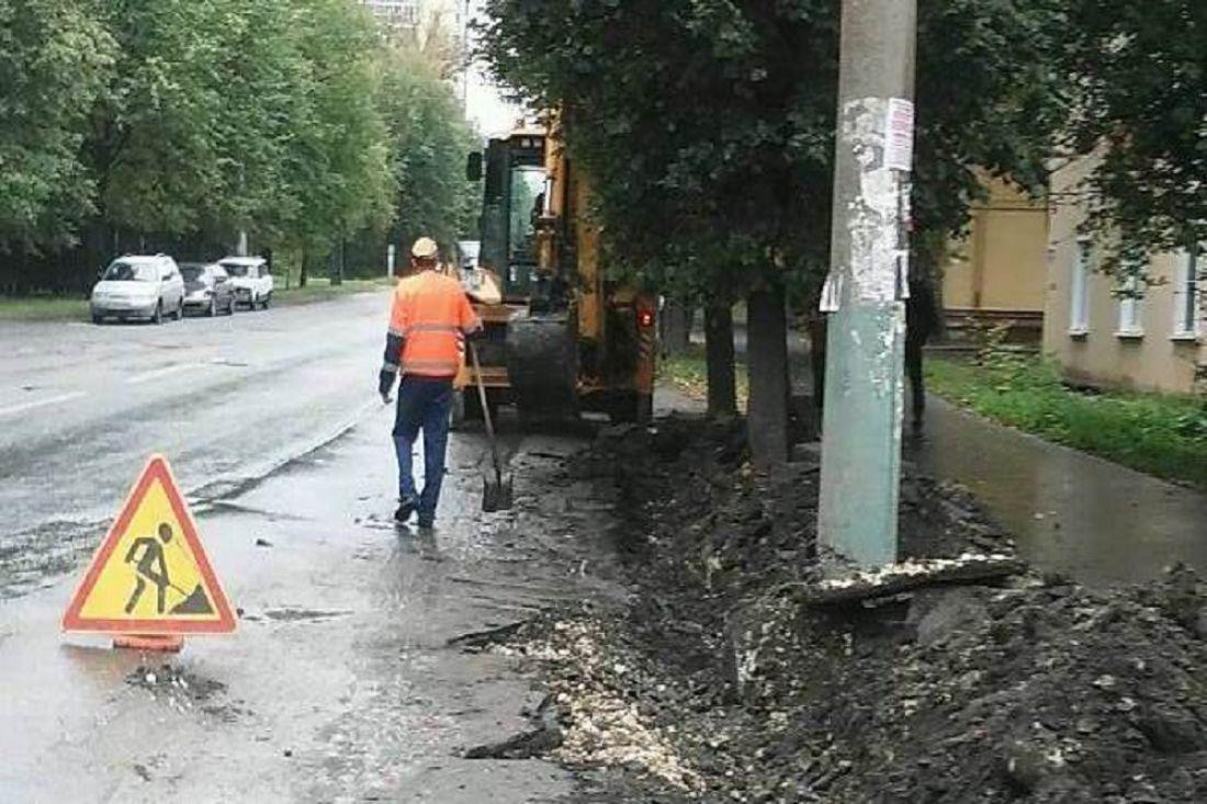 ВПензе на6 трассах ведутся ремонтные работы