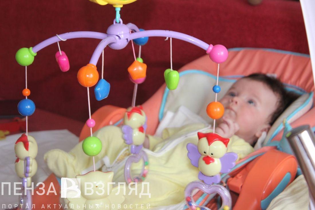 Новая выплата всвязи срождением первенца направлена 100 пензенским семьям
