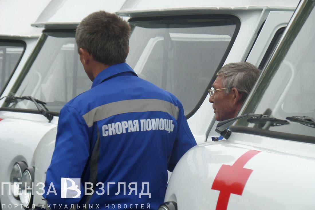 ВКузнецком районе неизвестный сбил пешехода