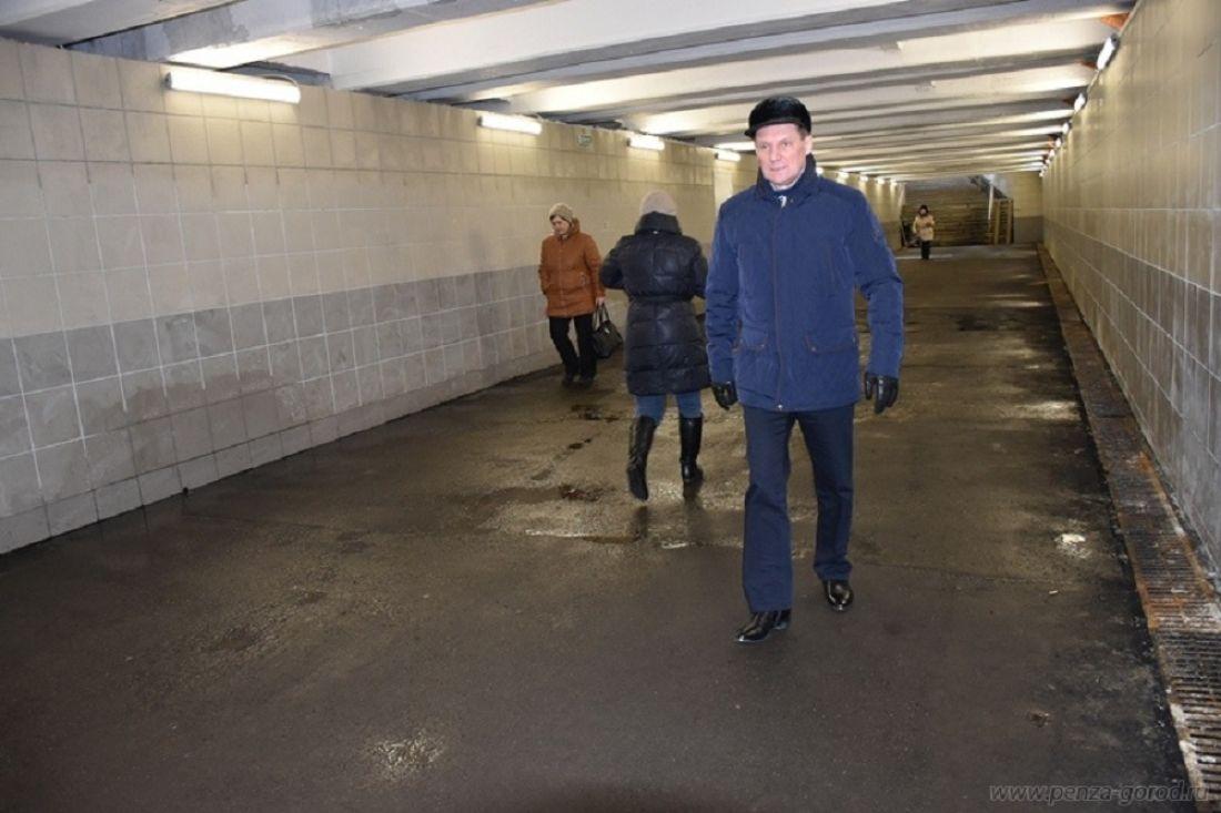 Уполномоченные власти проинформировали, когда займутся ремонтом подземного перехода наПензе-1