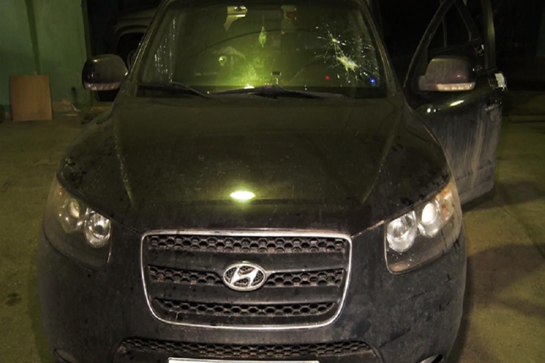 Саратовец пытался сжечь собственный автомобиль снаркотиками под Пензой